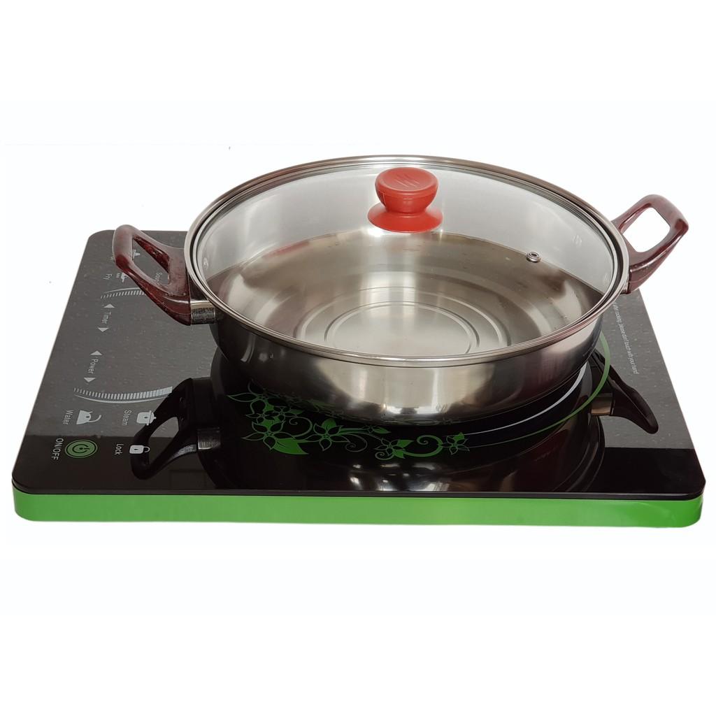 Bếp Điện Từ Cao Cấp Siêu Bền Zircon (Tặng Kèm Lẩu Inox)