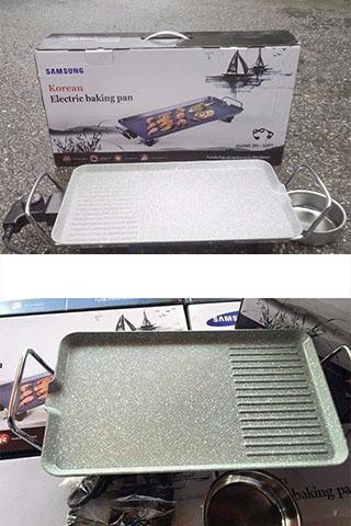 Bếp Nướng Điện Không Khói Samsung DH-SS01