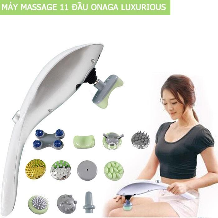 Máy Massage Cầm Tay 11 Đầu Luxurious Nhật Bản Cao Cấp