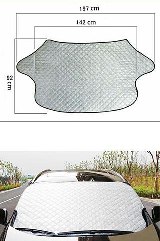 Bạt che nắng kính lái xe ô tô hàng dày phản quang 3 lớp - có ảnh thật