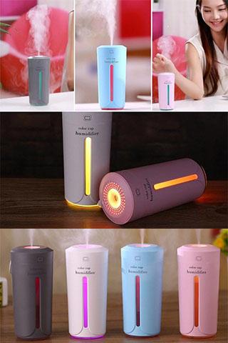 Máy phun sương tạo ẩm hình cốc Color Cup Humidifier