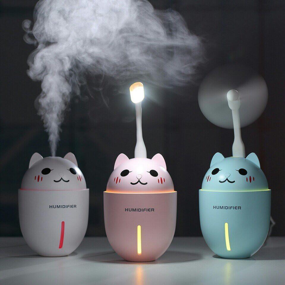 Máy phun sương mèo tạo ẩm 3 in 1 Cao Cấp