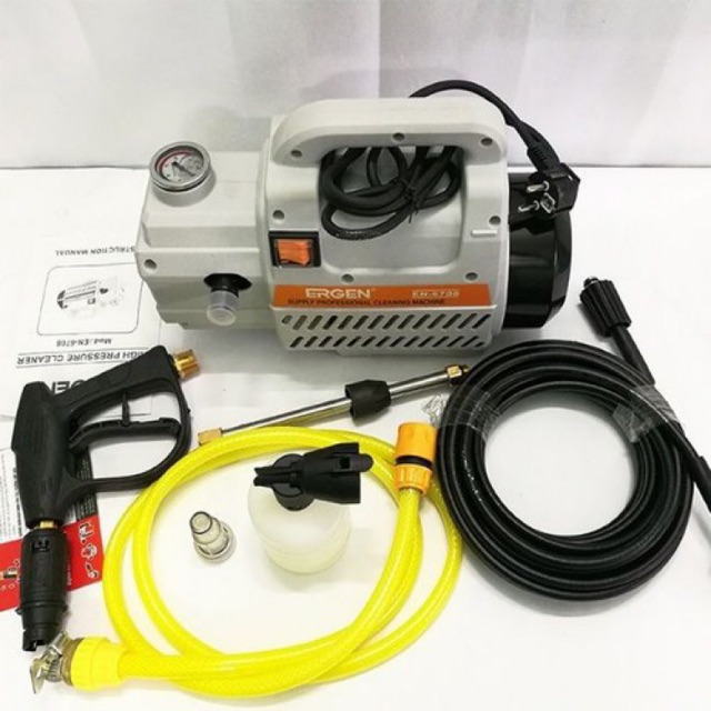 Máy rửa xe Ergen 2300W - moto từ 100% dây đồng cao cấp
