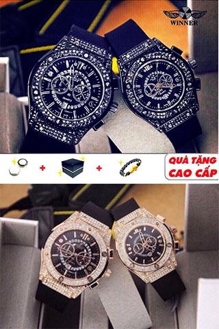Đồng hồ Nam (nữ), thương hiệu HB Winner, hương vani