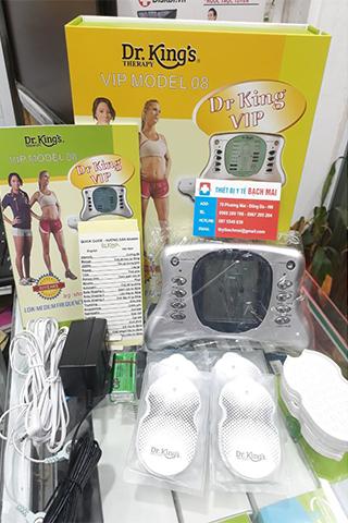 Máy massage xung điện 8 miếng dán Dr King AUKEWEL Mấu Mới