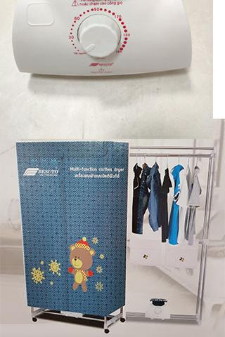 Máy sấy quần áo Besuto BST-4016 1200W Thái Lan Cao Cấp