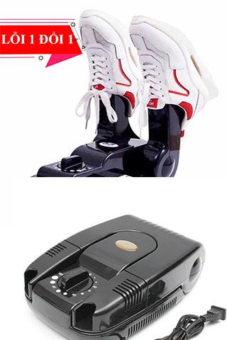 Máy sấy giày, khử mùi giày cao cấp ROYAL (Tặng lọ xịt vệ sinh giày )