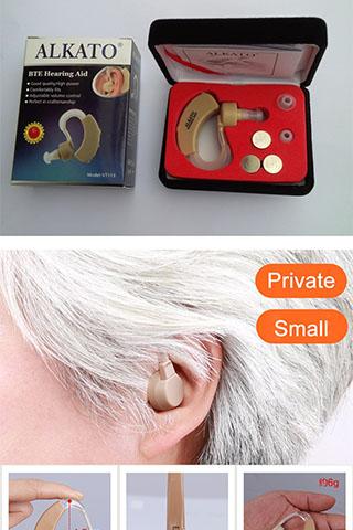 Máy trợ thính vành tai Alkato VT-113 Cao Cấp