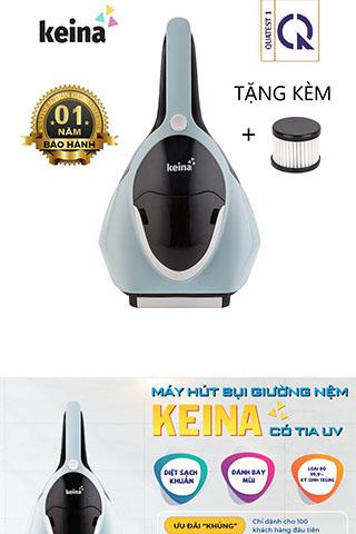 Máy Hút Bụi UV Keina 400W Diệt khuẩn  Giường Nệm Cao Cấp