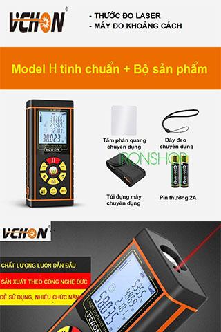 Thước đo Laser VCHON H40 Chính Hãng  Cao Cấp