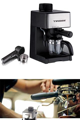 Máy pha cà phê Espresso Tiross TS621 Cao Cấp
