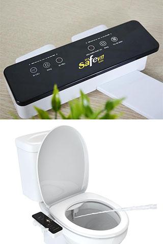 Vòi xịt rửa vệ sinh thông minh SAFEVN BIDET- SF 388 Cao Cấp