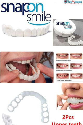 Dụng cụ niềng răng tại nhà snapon smile Cao Cấp