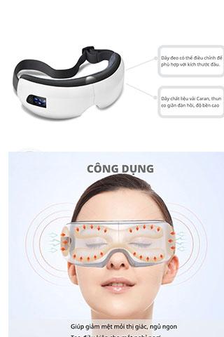 Máy Massage Mắt Smart Eye Thư Giãn  Cao Cấp