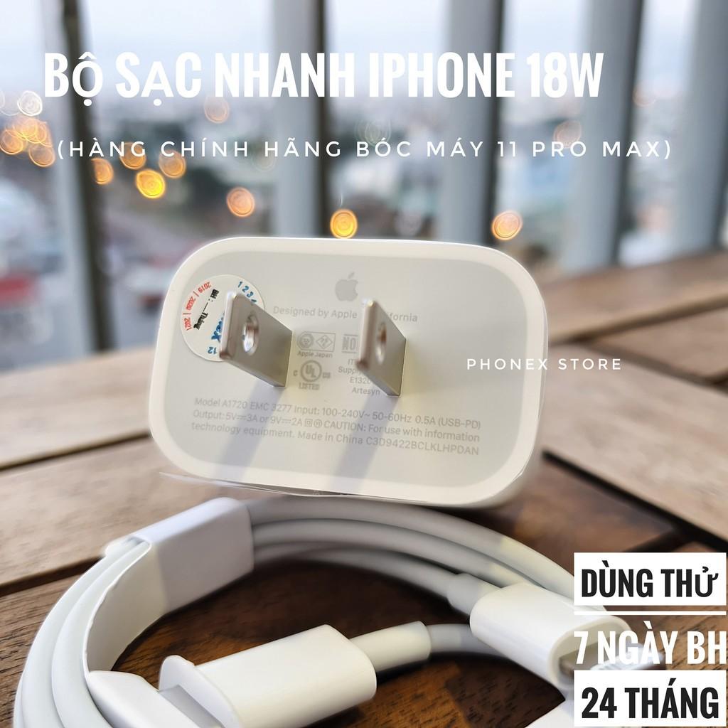Bộ Sạc Nhanh Iphone 18w CHÍNH HÃNG