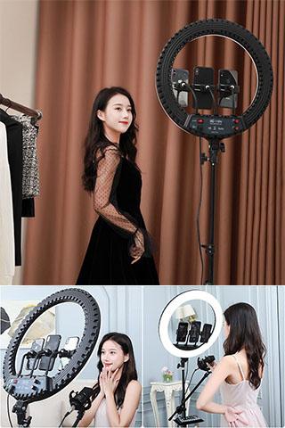 Đèn LiveStream 20cm 26cm 33cm 35cm 45cm 54cm Cao Cấp