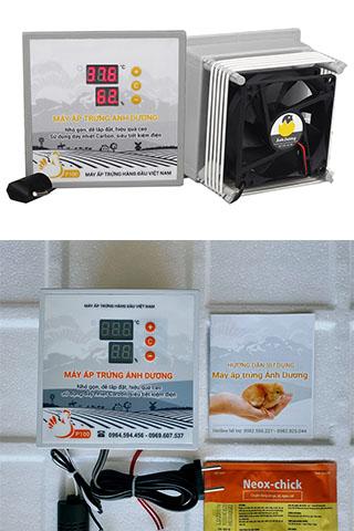 Máy ấp trứng Ánh Dương P100 ấp trứng gà, vịt, cút nở đạt 95%