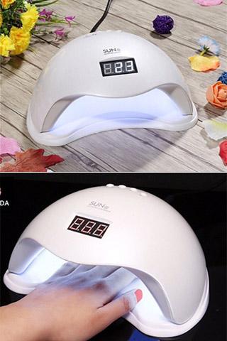 Máy hơ gel Sun 5 UV/LED 48W chính hãng