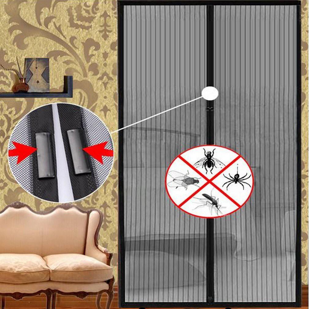 Rèm lưới chống muỗi có nam châm dán tự động