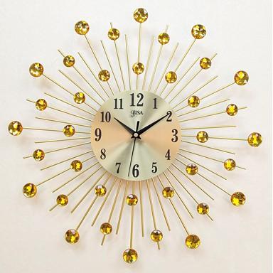 Đồng hồ treo tường  BISA bảo hành 10 năm size 4̀5cm BS8163-45YL