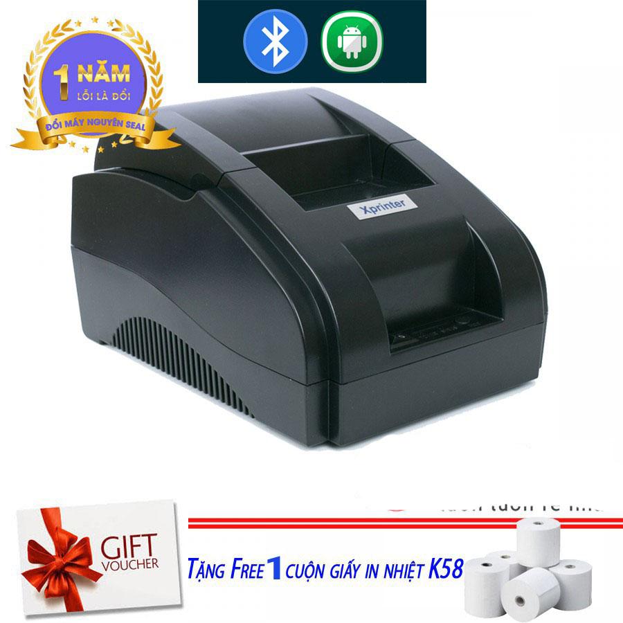 Máy in bill hoá đơn Xprinter 58IIH Cao Cấp