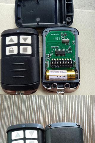 Điều khiển cửa cuốn Mã Gạt tần số 433MHZ Hot