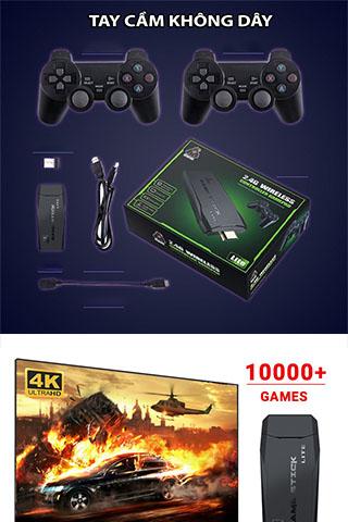 Máy chơi game cầm tay 4 nút HDMI trò chơi cổ điển Cao Cấp