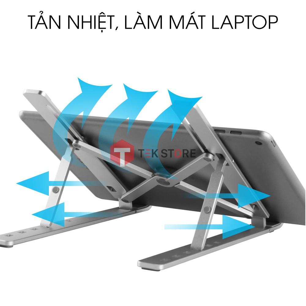 Kệ Giá Đỡ Laptop Macbook Stand Nhôm Tản Nhiệt Chống Trầy