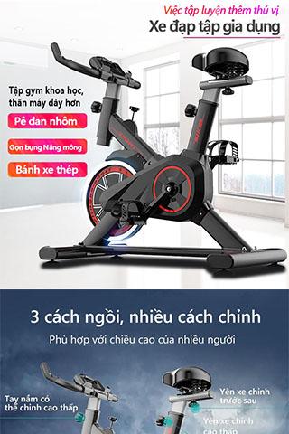 Xe đạp tập thể dục tại nhà, xe đạp tập gym, toshiko x9 Cao Cấp
