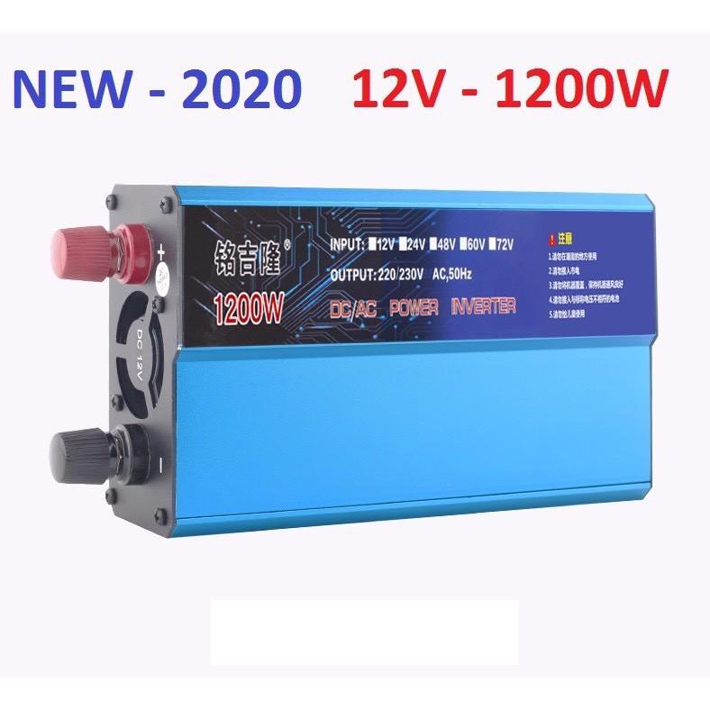 Bộ kích điện 12v lên 220v 1200w