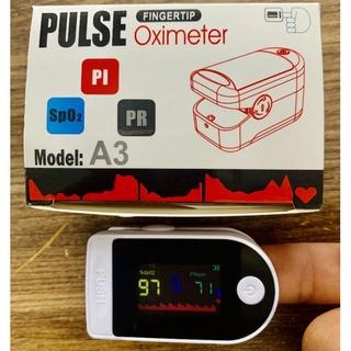Máy Đo Nhịp Tim Và Nồng Độ Oxy Trong Máu ( Spo2) Fingertip Pulse Oximeter Oromi A3